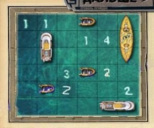 Морской бой на 1 игрока